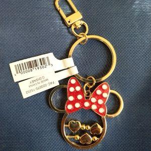 ♥ Minnie Mouse key chain